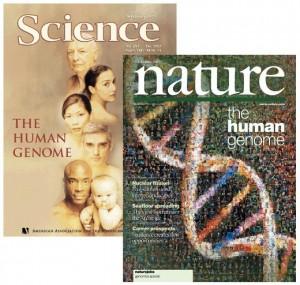 Il Genoma Umano sulle copertine di Nature e Science