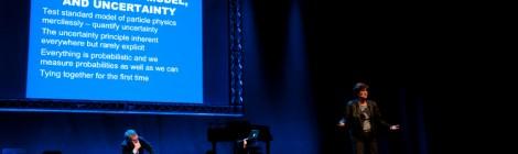 Melissa Franklin, Walt Disney e il principio di indeterminazione di Heisenberg