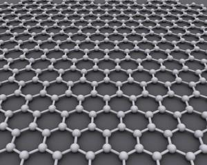 La struttura esagonale del grafene. Credits: Wikipedia