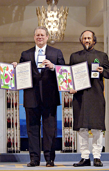 Al Gore e Rajendra Pachauri (creative commons)