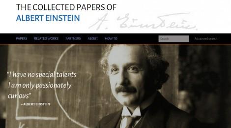 Albert Einstein nero su bianco