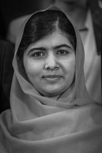 La giovanissima premio Nobel Malala Yousafzai. Credits: Creative Commons