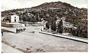 La Chiesa della Madonna della Solitudine in una foto d'epoca. Credits: Wikipedia