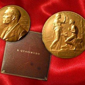 Medaglia Nobel Quasimodo