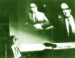 Gabor e la Proiezione olografica della sua immagine (Credits: www.infoamerica.org)