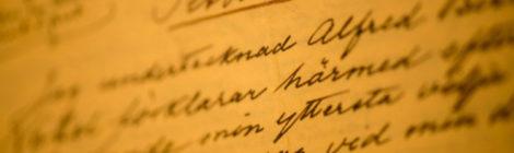 Una nuova traduzione del testamento di Alfred Nobel